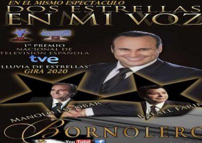 BORNOLERO DE ESPAÑA – ESPECTÁCULO: «DOS ESTRELLAS EN MI VOZ»