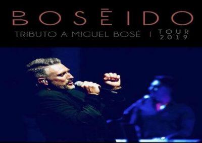 BOSEIDO – ESPECTÁCULO: «TRIBUTO A MIGUEL BOSÉ»