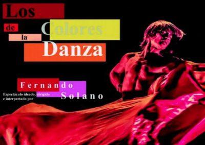 FERNANDO SOLANO – ESPECTÁCULO «LOS COLORES DE LA DANZA»