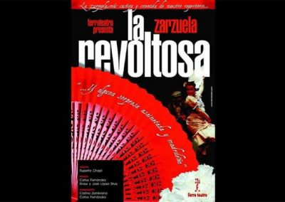 FERRO TEATRO – ESPECTÁCULO «LA REVOLTOSA»