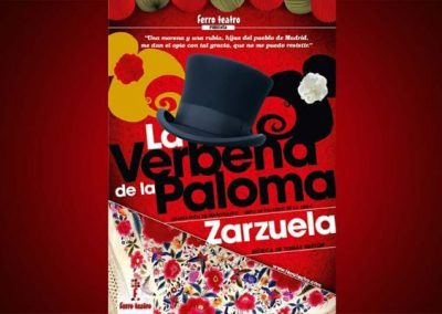 FERRO TEATRO – ESPECTÁCULO «LA VERBENA DE LA PALOMA»