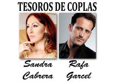 RAFA GARCEL Y SANDRA CABRERA – ESPECTÁCULO «TESOROS DE COPLA»