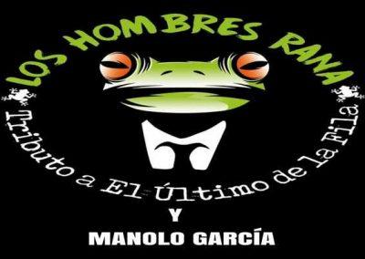 Los Hombres Rana – ESPECTÁCULO: «Tributo a El Último de la Fila y Manolo García»