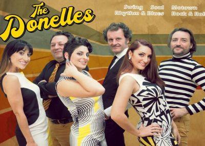 The Donelles – ESPECTÁCULO: «JAZZ, SWING, SOUL, R&B, ROCK&ROLL, MOTOWN MUSIC»